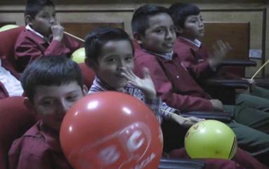 (Video) Por el Día Internacional del Niño, Delegación Provincial  Electoral de Loja realizó actividades lúdicas.