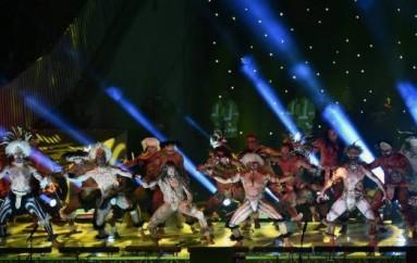Espectáculo de luces y danza caracterizó a la ceremonia inaugural de la Copa América Chile-2015