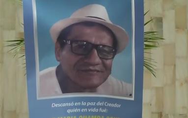 Familiares y amigos despiden al Dr. José María Chamba