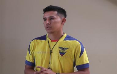 (Video) Joven talento de Catamayo participó como árbitro de baloncesto en Juegos nacionales juveniles