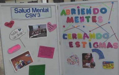 (Video) Con casa abierta, en la plaza de San Sebastián, se celebró la semana de la Salud Mental.