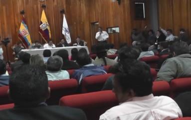 (Video) Presidentes de parroquias del sector noroccidental realizaron asamblea para buscar recursos para vía.