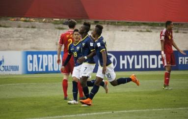 Ecuador enfrentará a Rusia en los octavos del Mundial Sub-17