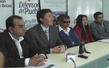 """(Video) Diálogo ciudadano participativo """"La realidad  de las discapacidades en Loja"""" se cumplirá este 19 de octubre"""