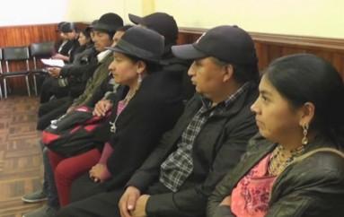 (Video) Abogados, de las 26 personas detenidas en Saraguro el 17 agosto, presentan Acción Extraordinaria de Protección.