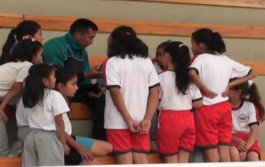 (Video) 12 Escuelas de Catamayo participan en los cuartos juegos de la revolución