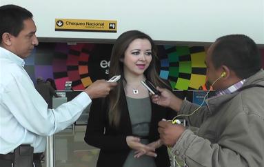 (Video) Gobernadora no descarta posibilidad de que Presidente visite Loja en noviembre