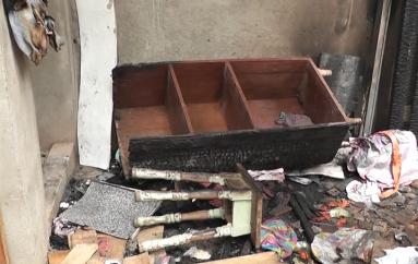 (Video) Familia afectada por incendio recibe apoyo, sin embargo hace falta mas ayuda