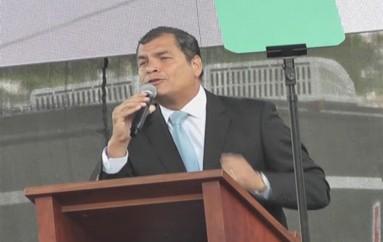 (Video) Presidente de la República, presidirá fiestas de Fundación e inaugurará Unidad Educativa del Milenio Bernardo Valdivieso.