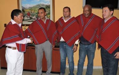 Humberto Pizarro, técnico de Mushuc Runa