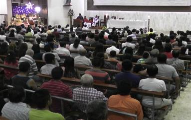 (Video) Mediante una eucaristía se dió la bienvenida al nuevo Párroco de Catamayo