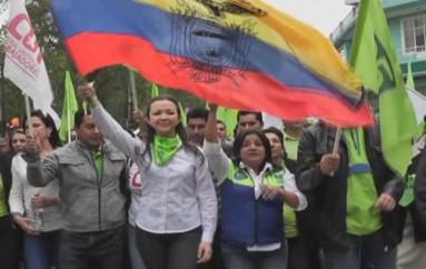 (Video) Militancia de Loja se prepara para la celebración de los 9 años de la revolución Ciudadana en Guayaquil.