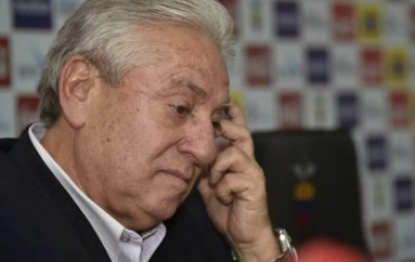 Luis Chiriboga no justificó pagos de la Conmebol, según entidad contra el lavado de activos