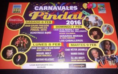 (Video) Pindal, se apresta a recibir a cientos de turistas durante el feriado de carnaval.