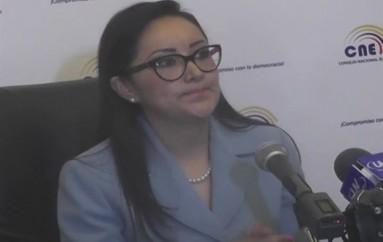 (Video) Directora Provincial del CNE, presentó calendario electoral del 2017.