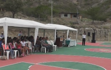 (Video) Gobierno Local inauguró cancha de uso múltiple en Catamayto