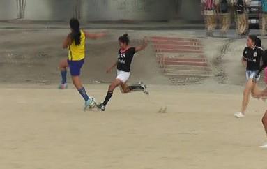 (Video) Disciplina de fútbol femenino de Liga Cantonal de Catamayo retoma los entrenamientos.