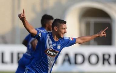 Emelec igualó 2-2 con Olimpia con goles de Fernando Giménez en la Copa Libertadores