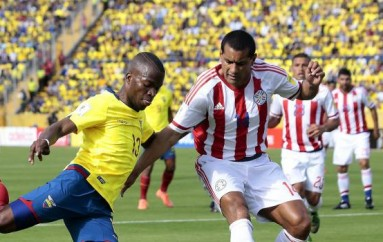 Ecuador empató 2-2 con Paraguay en la eliminatoria al Mundial Rusia 2018