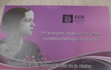 (Video) Casa de la Cultura, organiza V Encuentro Nacional de Arte Mujer Matilde Hidalgo de Procel.