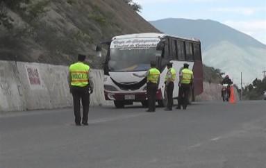 (Video) Policía Nacional intensifica operativos por feriado de Semana Santa.