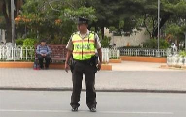 (Video) Policía Nacional realizó operativos en calles céntricas de la ciudad