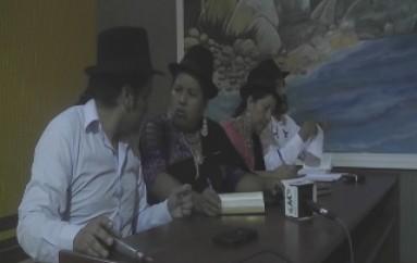 (Vídeo) Varios Presidentes de Las Diferentes Comunidades Indígenas  de La Provincia Abordaran al Gobierno Nacional temas y derechos a la Justicia Indígena.