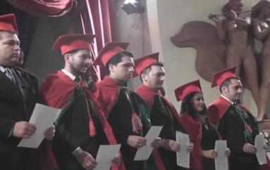 (Video) Universidad Nacional de Loja incorporó a 141 nuevos Abogados.