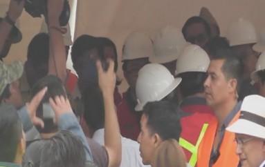 (Video) Presidente de la República recorrió proyecto minero de Zamora