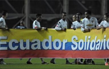 Liga de Quito pagará por la atención médica de heridos por el terremoto