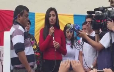(Video) Concejala Cruz,  sale en libertad tras 30 días de prisión.