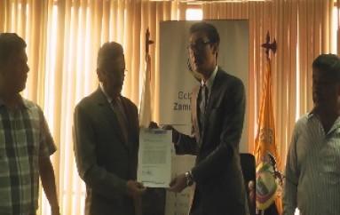 (Vídeo) Municipio de Zamora Entrego: los terrenos a la Gobernación para la Construcción de la Nueva Unidad Educativa del Milenio.
