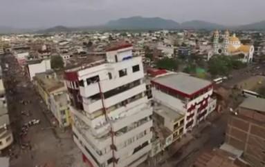 (Video) COE Provincial de Loja canaliza apoyo para las familias afectadas por el terremoto.