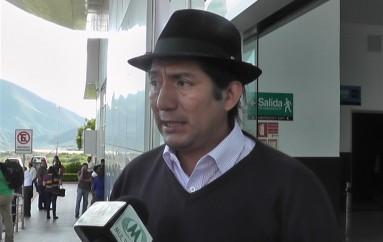 (Video) Prefecto de Zamora Chinchipe cuestionó al gobierno por desatención en vialidad