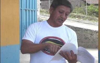 (Video) Felipe Martínez: 'Para continuar con el proyecto de huertos familiares es necesario que los docentes cancelen los pagos.'