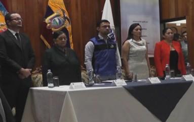 Video) Hoy se cumplió en Loja Séptimo Consejo Consultivo Territorial de Organizaciones Políticas.