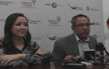 (Video) Ministro de Educación Augusto Espinosa aclaró sobre donación de bienes al Municipio de Loja.
