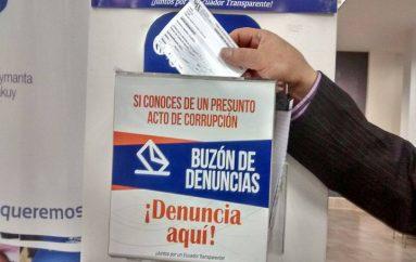 (Video) Ciudadanos podrá alertar presuntos actos de corrupción a través del buzón de denuncias.