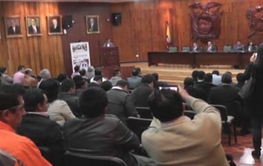 (Video)  Parroquias rurales exigen puntualidad en la transferencias de recursos económicos.