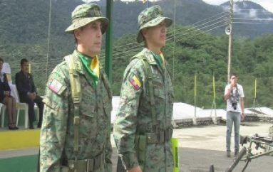 (ZAMORA) El Batallón de Selva 62 Zamora cuenta con nuevo Comandante