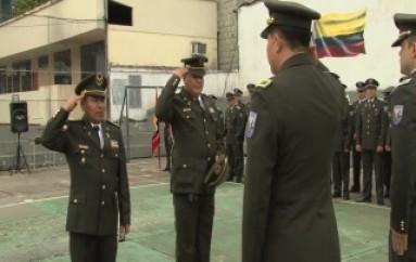 (ZAMORA) Ceremonia de agradecimiento y despedida de Suboficiales de la Policía Nacional