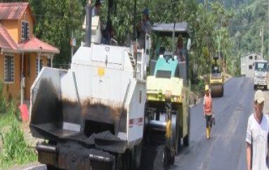 (ZAMORA) En los próximos días se entregará de la vía Guadalupe-Muchime