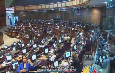 (Video) Ciudadanos señalan que Asambleístas deben predicar con el ejemplo y donar para las zonas afectadas por el terremoto.
