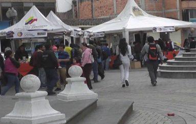 (Video) 50 expositores participan de la I Feria de Emprendimientos Empresariales e Industriales.