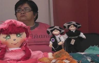 """(Video)   """"Wiñana"""" es la marca que llevarán las artesanías lojanas que estarán expuestas  en la plaza Matilde"""