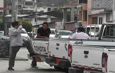 (Video) Catamayo ya registra robo de carros a conductores de transporte mixto