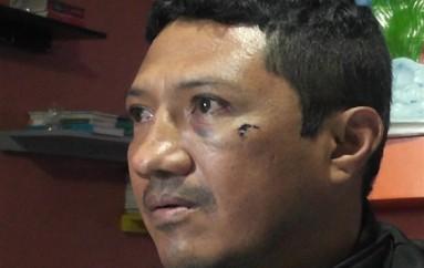 (Video) Conductor que fue asaltado dice que puso en riesgo su vida para que no le roben su carro