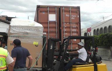 (Video) Cinco gobiernos parroquiales recibieron donación internacional.