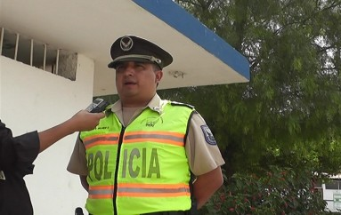 (Video) Policía Nacional alerta nuevo intento de robo a vehículo de transporte mixto
