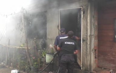(Video) Familia lo perdió todo tras incendio de grandes proporciones en su vivienda